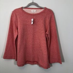 NWT Lou & Grey pink knit sweater